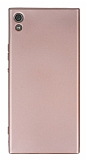 Sony Xperia XA1 Ultra Mat Rose Gold Silikon Kılıf