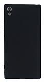 Sony Xperia XA1 Ultra Mat Siyah Silikon Kılıf
