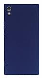 Sony Xperia XA1 Ultra Mat Lacivert Silikon Kılıf