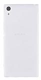 Sony Xperia XA1 Ultra Süper İnce Şeffaf Silikon Kılıf