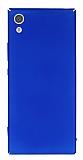 Sony Xperia XA1 Ultra Tam Kenar Koruma Lacivert Rubber Kılıf