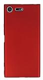 Sony Xperia XZ Premium İnce Mat Kırmızı Silikon Kılıf