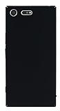 Sony Xperia XZ Premium Tam Kenar Koruma Siyah Rubber Kılıf