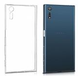 Sony Xperia XZ Tam Kenar Koruma Şeffaf Rubber Kılıf