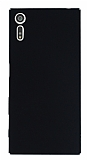Sony Xperia XZ Tam Kenar Koruma Siyah Rubber Kılıf