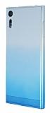 Sony Xperia XZ Geçişli Mavi Silikon Kılıf
