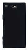 Sony Xperia XZ1 Compact Mat Siyah Silikon Kılıf
