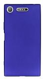 Sony Xperia XZ1 Mat Lacivert Silikon Kılıf