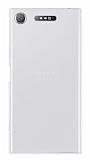 Sony Xperia XZ1 Süper İnce Şeffaf Silikon Kılıf