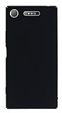 Sony Xperia XZ1 Tam Kenar Koruma Siyah Rubber Kılıf