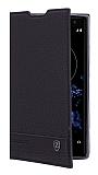 Sony Xperia XZ2 Gizli Mıknatıslı Yan Kapaklı Deri Kılıf