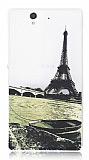 Sony Xperia Z Eiffel Kulesi Ultra �nce Silikon K�l�f