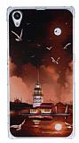 Sony Xperia Z1 K�z Kulesi Rubber K�l�f