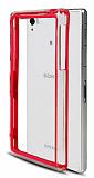 Sony Xperia Z1 Bumper �er�eve K�rm�z� K�l�f