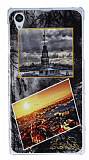Sony Xperia Z1 �stanbul Kartpostal Rubber K�l�f