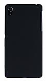 Sony Xperia Z2 Mat Siyah Silikon Kılıf