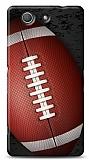 Sony Xperia Z3 Compact Amerikan Futbol Topu Kılıf