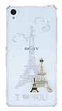 Sony Xperia Z3 Ta�l� Paris �effaf Silikon K�l�f