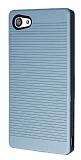 Sony Xperia Z5 Compact Silikon Kenarlı Silver Kılıf
