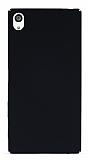 Sony Xperia Z5 Premium Tam Kenar Koruma Siyah Rubber Kılıf