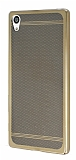 Sony Xperia Z5 Premium Specked Gold Silikon Kılıf