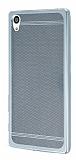 Sony Xperia Z5 Premium Specked Silver Silikon Kılıf