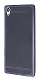 Sony Xperia Z5 Premium Specked Dark Silver Silikon Kılıf