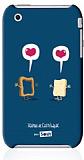 Sosh iPhone 3G / 3GS Vainui de Castelbajac Rubber K�l�f