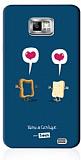 Sosh Samsung i9100 Galaxy S2 Vainui de Castelbajac Rubber K�l�f