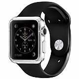 Spigen Apple Watch Liquid Crystal Ultra Koruma �effaf K�l�f (38 mm)