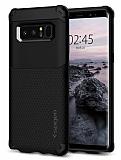 Spigen Hybrid Armor Samsung Galaxy Note 8 Siyah Ultra Koruma Kılıf