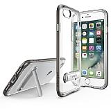 Spigen Crystal Hybrid iPhone 7 Gunmetal Kılıf