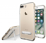 Spigen Crystal Hybrid iPhone 7 Plus Gold Kılıf