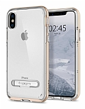Spigen Crystal Hybrid iPhone X Gold Kılıf