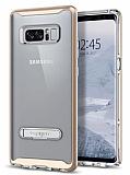 Spigen Crystal Hybrid Samsung Galaxy Note 8 Gold Kılıf