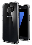 Spigen Crystal Shell Samsung Galaxy S7 Dark Silver K�l�f