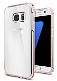Spigen Crystal Shell Samsung Galaxy S7 Rose Gold Kılıf