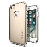 Spigen Hybrid Armor iPhone 7 Gold Kılıf