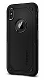 Spigen Hybrid Armor iPhone X / XS Ultra Koruma Siyah Kılıf
