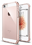 Spigen iPhone SE / 5 / 5S Crystal Shell Ultra Koruma Rose Gold Kılıf