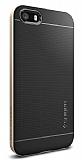 Spigen iPhone SE / 5 / 5S Neo Hybrid Ultra Koruma Gold K�l�f