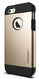Spigen iPhone SE / 5 / 5S Tough Armor Ultra Koruma Gold K�l�f
