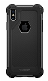 Spigen Rugged Armor Extra iPhone X Ultra Koruma Siyah Kılıf