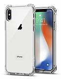 Spigen Rugged Crystal iPhone X Ultra Koruma Şeffaf Kılıf