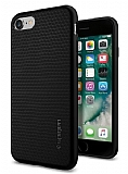 Spigen Liquid Armor iPhone 7 Ultra Koruma Siyah Kılıf