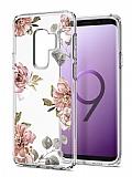Spigen Liquid Crystal Galaxy S9 Plus Blossom Flower Kılıf