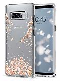 Spigen Liquid Crystal Samsung Galaxy Note 8 Shine Blossom Silikon Kılıf