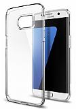 Spigen Liquid Crystal Samsung Galaxy S7 Edge Şeffaf Silikon Kılıf