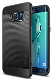 Spigen Neo Hybrid Carbon Samsung Galaxy S6 Edge Plus Koyu Mavi Kılıf