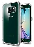 Spigen Neo Hybrid Crystal Samsung Galaxy S6 Edge Silver Kılıf